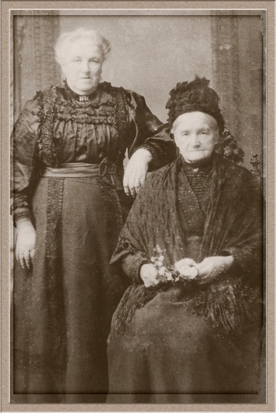 My great great grandmother and great great great grandmother from 1818 0nwards