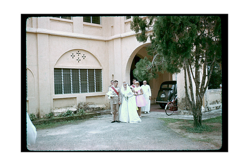 Wedding in Malaya of which we were bridesmaids