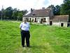 BRESOLETTES - FRANCE - LA CRISTERIE - JEAN ROGER BLANCHARD (Mère - Yvette Pelletier - descendante de Guillaume Pelletier) Photo prise en Août 2007