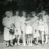 L to R - Addie Wintersole, Ruth Duncan, Margie Keeney Wintersole, Louise Wintersole Turner, Patty Turner, Gladys Wintersole, Dodie Wintersole, Gert Helfeinbein Wintersole