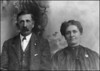 George and Evelina Elizabeth Hyde Pears<br /> Date Unknown...They married January 13, 1881