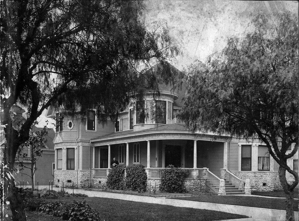 My guess is that this is 1104 North Lawrence Avenue in Wichita, where Charles William Brown (1835-1920) and his family lived from ca. 1895 until ca. 1920.
