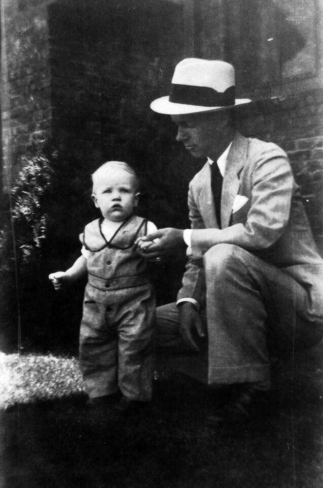 Lee Phillips III with Lee Phillips Jr.