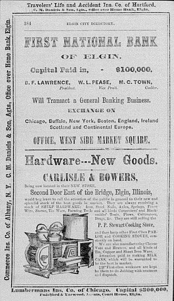 Kane County Gazeteer 1867