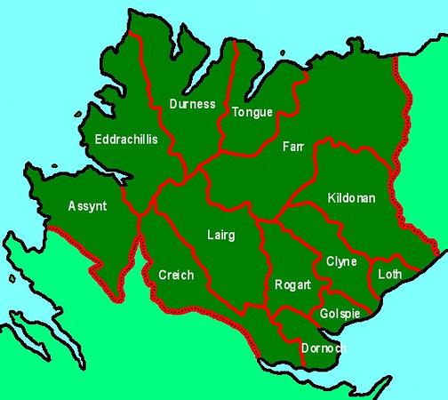 Parish Map - Sutherland