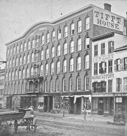 Buffalo Main street 1870s