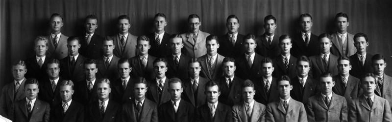 Bottom row, 5th from Left:  L.E. Phillips Jr.