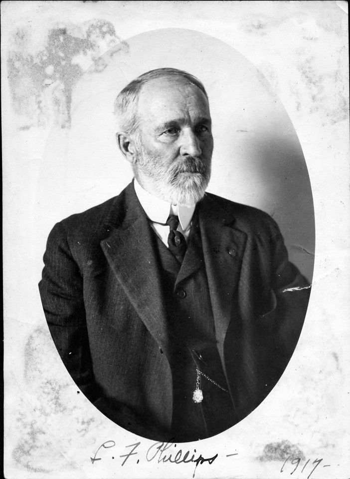 Caption reads:  L.F. Phillips - 1917