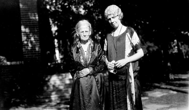 Martha Ellen Rogers Carr and Lenora Carr Phillips