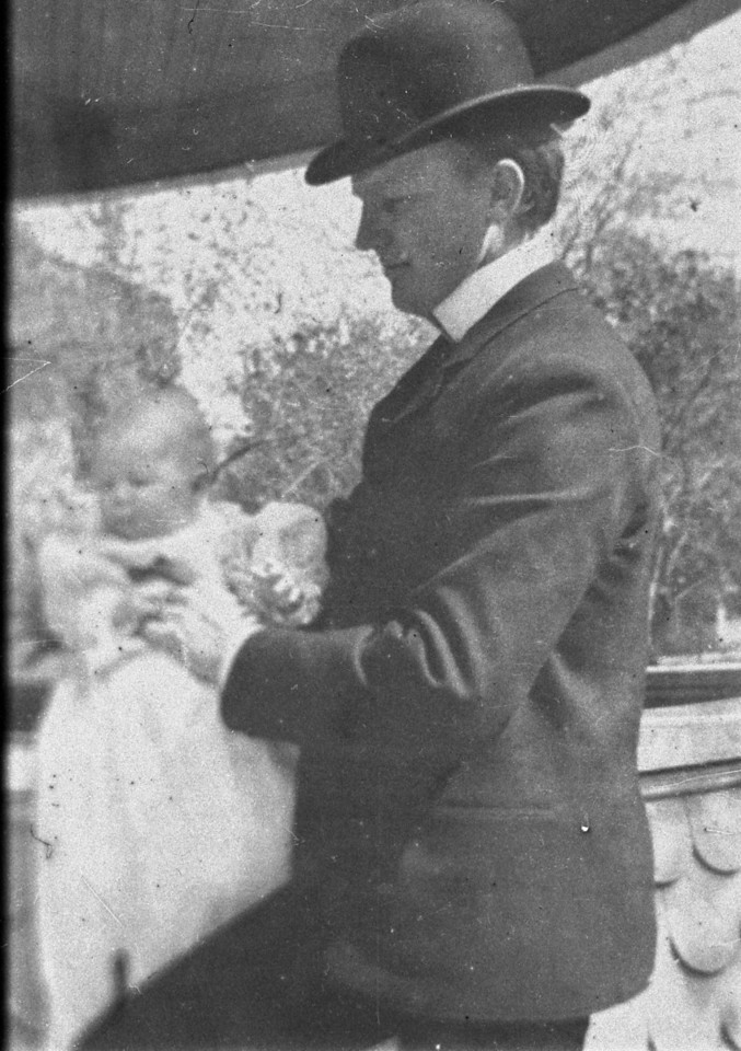 1903.  Walter Pease Innes (1873-1958) and Walter Pease Innes Jr. (1902-1977).