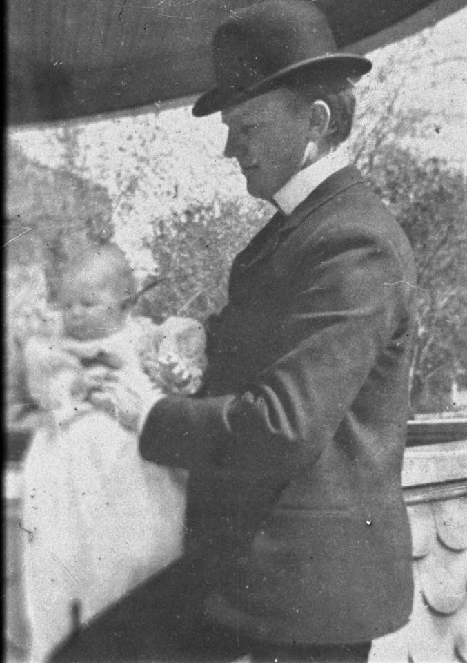 1903.  Walter Pease Innes (1873-1958) and Walter Pease Innes Jr. (1902-1977).