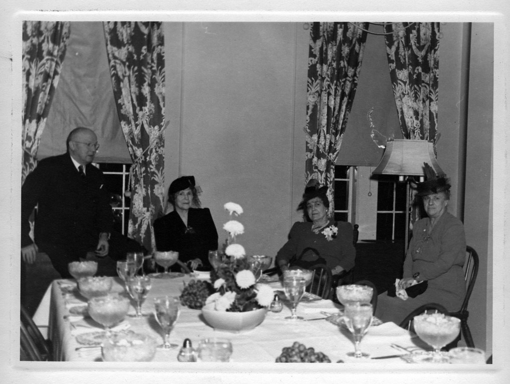 From Left to Right:  Walter Pease Innes, Margaret Brown Innes, unknown woman, Anna Brown Woods.