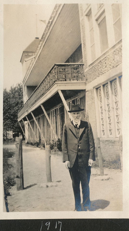 I believe this is Charles William Brown.  From Anne Katherine Innes' photo album.