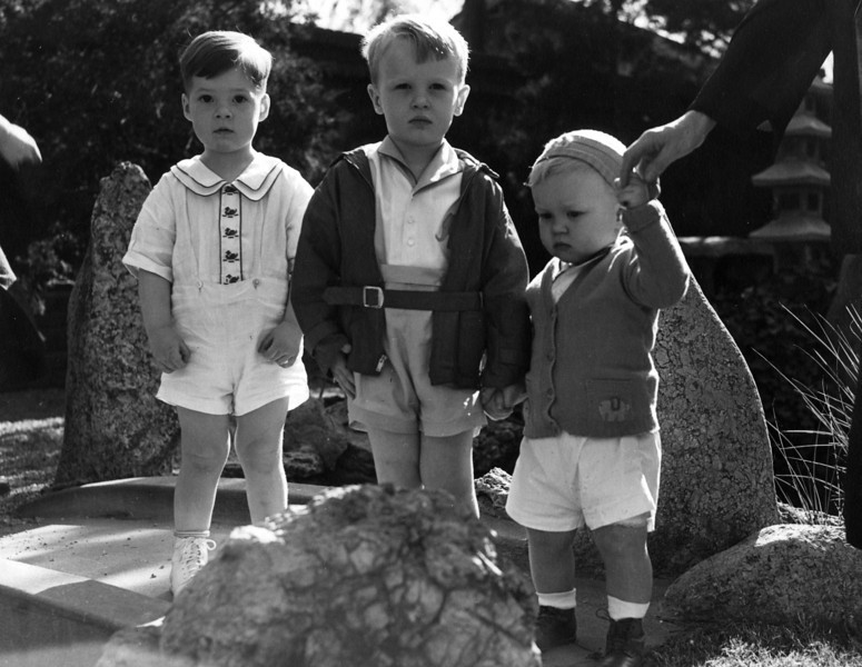 April 1935.  From Left to Right:  John Philip Starr, Lee Phillips III, Innes Phillips.
