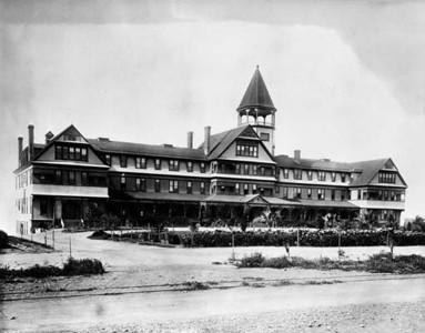 Arcadia Hotel streetside 1890