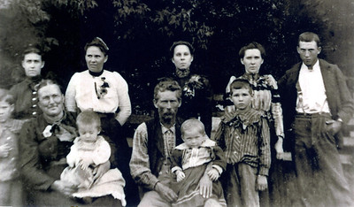 William Long and Cora (Thing) Hunter Family