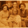 unknown, Miki, Sanyi, Bozsi, Ella (mother); 1934