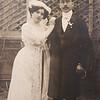 Ella Grunberger - Zsigmond Glattstein wedding 1911