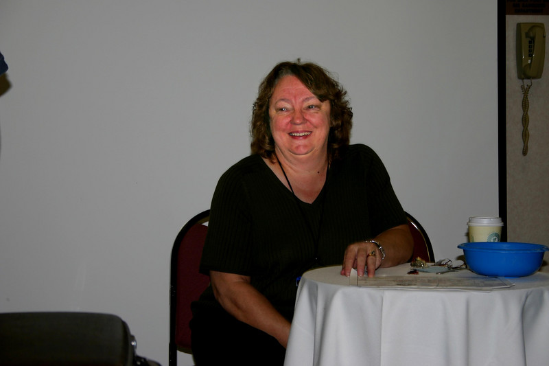 Representing the American Historical Society of Germans from Russia, Patti Sellenrick of Sheridan, Wyoming, was also deeply involved with the successful 1999 AHSGR convention in Casper.