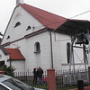 St. Adalbert's (Sw. Wojciech). This is a later church, built as a Protestant church in 1827, Catholic since 1945.
