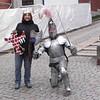 Outside Wawel Castle