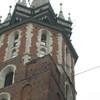 Bazylika Mariacka (St. Mary's Basilica) on the Rynek Glówny (main market square).