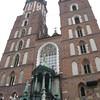 Bazylika Mariacka (St. Mary's Basilica) on the Rynek Glówny (main market square)