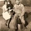 1930 - Viola, Phyllis and Loren Davis