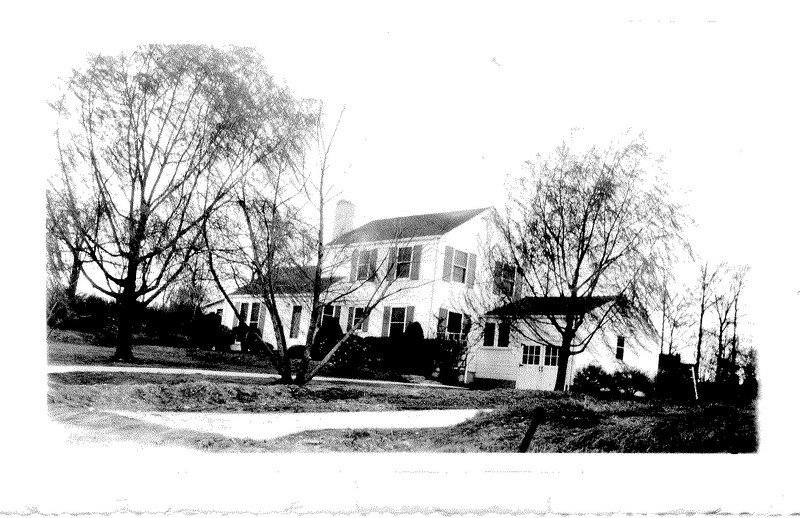 3702 Montrose Road.  This is where we were living when we welcomed my baby brother.