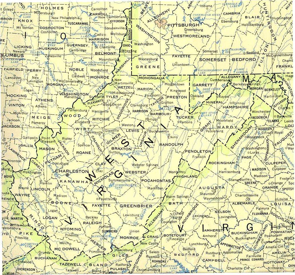 John Proudfoot II in Barbour County, West Virginia, 1808