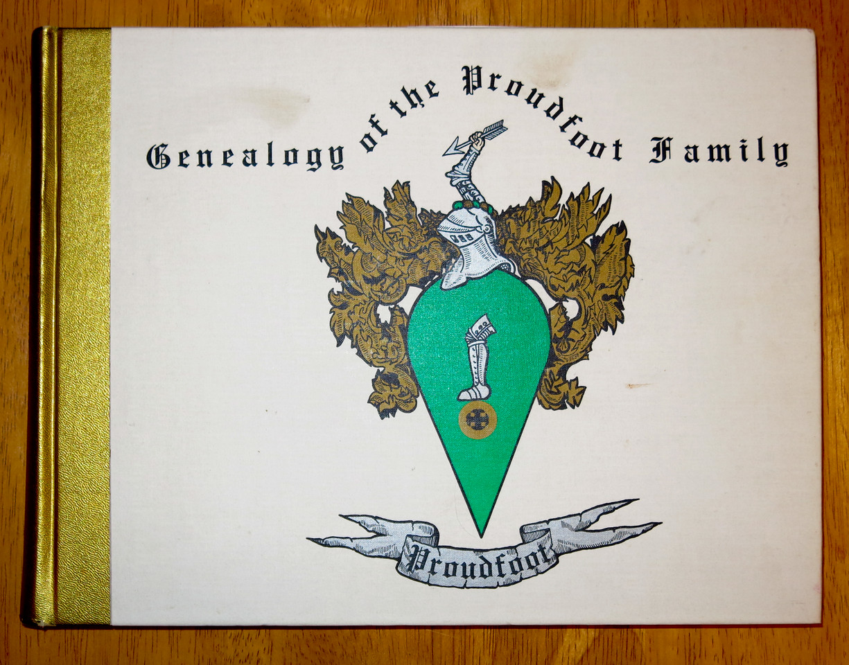 Genealogy of the Proudfoot Family