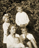 1920<br /> Front: Elizabeth Graves Thompson, Lessie Lee Graves Smith, Robert Graves<br /> Back: Sarah Graves, James Graves