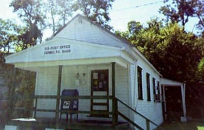 Denbo Pa Post Office CU-1