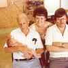 """Krystle Nicole Gascoigne (1985 -  ), Burl Orville Dew (1904-2001), Pamela Sue (Habben) Gascoigne, Daniel Eugene Gascoigne (1950 - )  Written in the Rogers Reunion Photo Album Volume III page 100 """"Pamela Habben Gascoigne Family"""""""