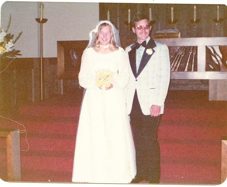 "Joy Marie (Harvey) White (1952 -  ) and Stephen C. White     Written in the Rogers Reunion Photo Album Volume III page 89 ""Joy Marie Harvey m. June 30, 1973 Stephen C. White."""