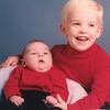 "Matthew Taylor Heinle b. 1995, Christopher Allen Heinle b. 1992.  Written in the Rogers Reunion Photo Album Volume III page 120 ""Christopher & Matthew"""