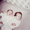 "Diana Lee Fehrenbach (1961- ), Deborah Lynn Fehrenbach (1961-) Written in the Rogers Reunion Photo Album Volume III page 32 ""Dianne & Debbie Fehrenbach – twins – 1 mo old Oct 23, 1961.  Merry Christmas to our Great Grandpa & Grandma Dew""."