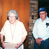 "Margaret Louise (Dew) Yount (1916-2003),  Frank Alexander Yount (1913-2004)  Written in the Rogers Reunion Photo Album Volume III page 44 ""Margaret & Frank Yount – July 8, 1997"""
