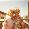"Catherine Elizabeth (Dew) Heinle (1955 - ) and aunt Edna Ruth (Dew) Hughes  Written in the Rogers Reunion Photo Album Volume III page 114 ""Cathy (Dew) (George) Heinle, Edna (Dew) Hughes 1981"""