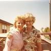 "Catherine Elizabeth (Dew) Heinle (1955 - ) and aunt Edna Ruth (Dew) Hughes  Written in the Rogers Reunion Photo Album Volume III page 114 ""Cathy (Dew) (George) Heinle, Edna (Dew) Hughes 1981"""