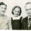 "Margaret Louise (Dew) Yount (1916-2003), Cheryl Ann Yount (1945-1983), Frank Alexander Yount (1913-2004) Written in the Rogers Reunion Photo Album Volume III page 43 ""Margaret, Cheryl & Frank"""