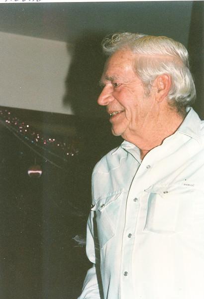 "Herman Baumez (1928-2002)  Written in the Rogers Reunion Photo Album Volume III page 139 ""Herm Jan 1999"""