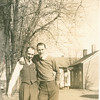 "Burt Dew (unable to document), Robert Eugene Dew (1922-1971)  Written in the Rogers Reunion Photo Album Volume III page 50 ""Burt Dew & Bob Dew 1940's"""