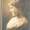 """Josie Louisa (Dew) Brinker (1897-1999) Written in the Rogers Reunion Photo Album Volume III page 65 """"Portrait signed by Josie 'Josie Dew (Brinker)'"""""""