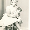 "Donna June Hughes born 1955   Written in the Rogers Reunion Photo Album Volume III page 124 ""Donna June about 4 yrs old"""