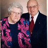"Frank Alexander Yount (1913-2004), Margaret Louise (Dew) Yount (1916-2003)  Written in the Rogers Reunion Photo Album Volume III page 42 on the card ""Seasons Greetings, The Frank Younts, 1937-1997"""