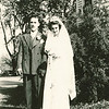 "Robert Eugene Dew (1922-1971) , Dorothy Kathryn (Mathiot) Dew (1925-1996) Written in the Rogers Reunion Photo Album Volume III page 51 ""May 29, 1943 same day his dad was married."""