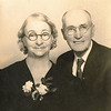 "Jennie Belle Pittman (1887-1966) and William Alfred Dew (1969-1965)   Written in the Rogers Reunion Photo Album Volume III page 108 "" William A. & Jennie (Pittman) Dew perhaps 25th anniversary 1948"""