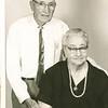 "William Alfred Dew (1969-1965) and Jennie Belle (Pittman) Dew (1887-1966)  Written in the Rogers Reunion Photo Album Volume III page 108 ""1959 90yrs Jennie 72"""