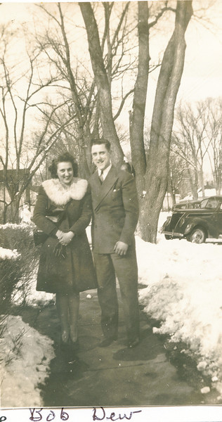 "Dorothy Kathryn (Mathiot) Dew (1925-1996), Robert Eugene Dew (1922-1971)  Written in the Rogers Reunion Photo Album Volume III page 49 ""Dorothy Kathryn (Mathoitt) (sic) Dew and Robert Eugene Dew"""
